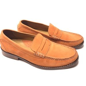 Cole Haan Suede Penny Loafers